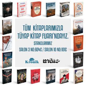 İstanbul Tüyap Kitap Fuarı'ndayız